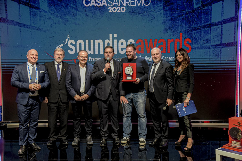 A Marco Sentieri e Tecla i Soundies Awards 2020