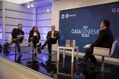 """Writers: """"22 gradini per l'inferno"""" di Emilio Orlando e Rita Cavallaro a Casa Sanremo"""