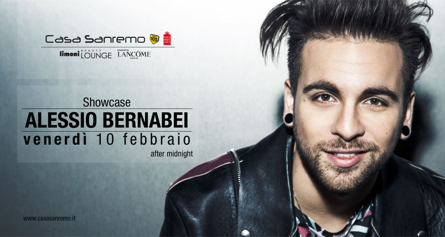Alessio Bernabei Calendario.Showcase Aftermidnight Alessio Bernabei Casa Sanremo