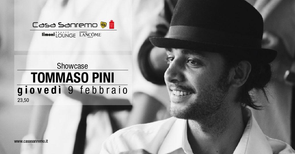 Showcase - Tommaso Pini a Casa Sanremo - Casa Sanremo