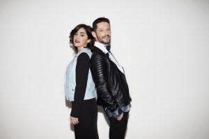 Radio 105 intervista Nesli & Alice Paba a Casa Sanremo @ Lounge Sala Mango