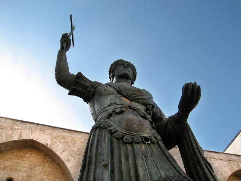 Il Colosso di Barletta, chiamato Eraclio