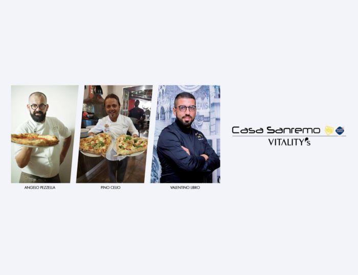 I tre Moschettieri<br>della pizza a<br>Casa Sanremo