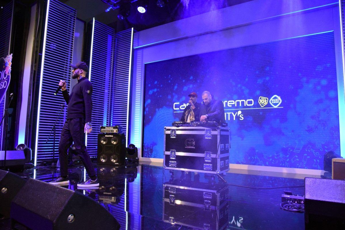 Il ritmo dei Boomdabash nella Lounge di Casa Sanremo