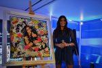 Elisabetta Gregoraci a Casa Sanremo per la mostra di Re d'Italia Art