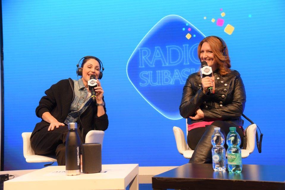 Anna Tatangelo a Radio Subasio