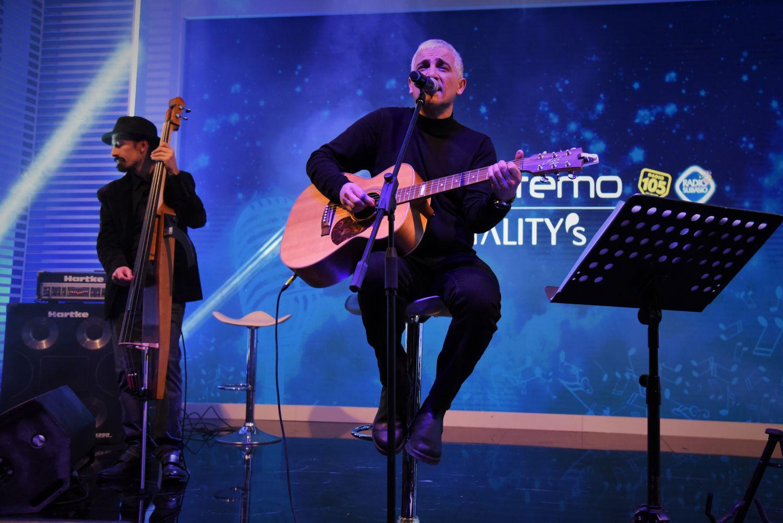 Bungaro incanta la Lounge di Casa Sanremo Vitality's