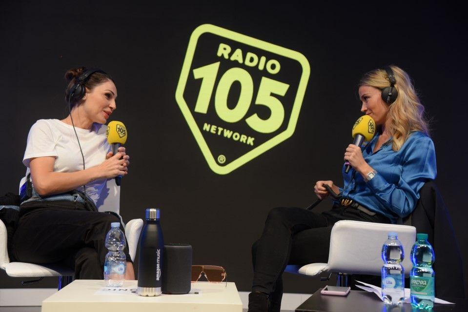 Anna Tatangelo e Diletta Leotta a Radio 105