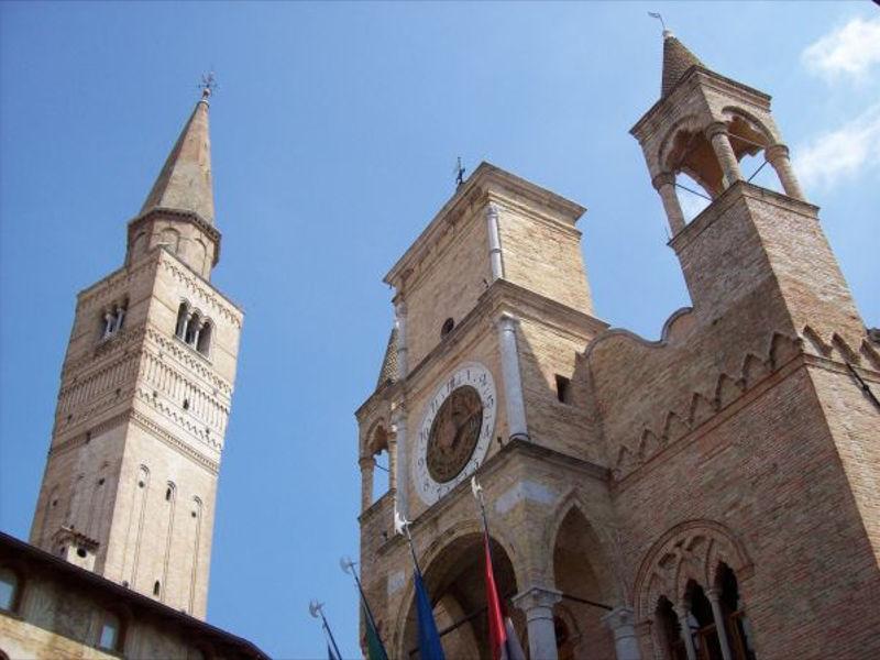 Palazzo comunale e campanile del Duomo di San Marco - Pordenone