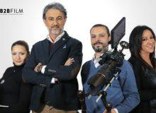 Alfonso Paoletta e la sua squadra per filmare ogni angolo di Casa Sanremo