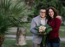 Daniele e Antonella: la coppia di fioristi che decorerà Casa Sanremo